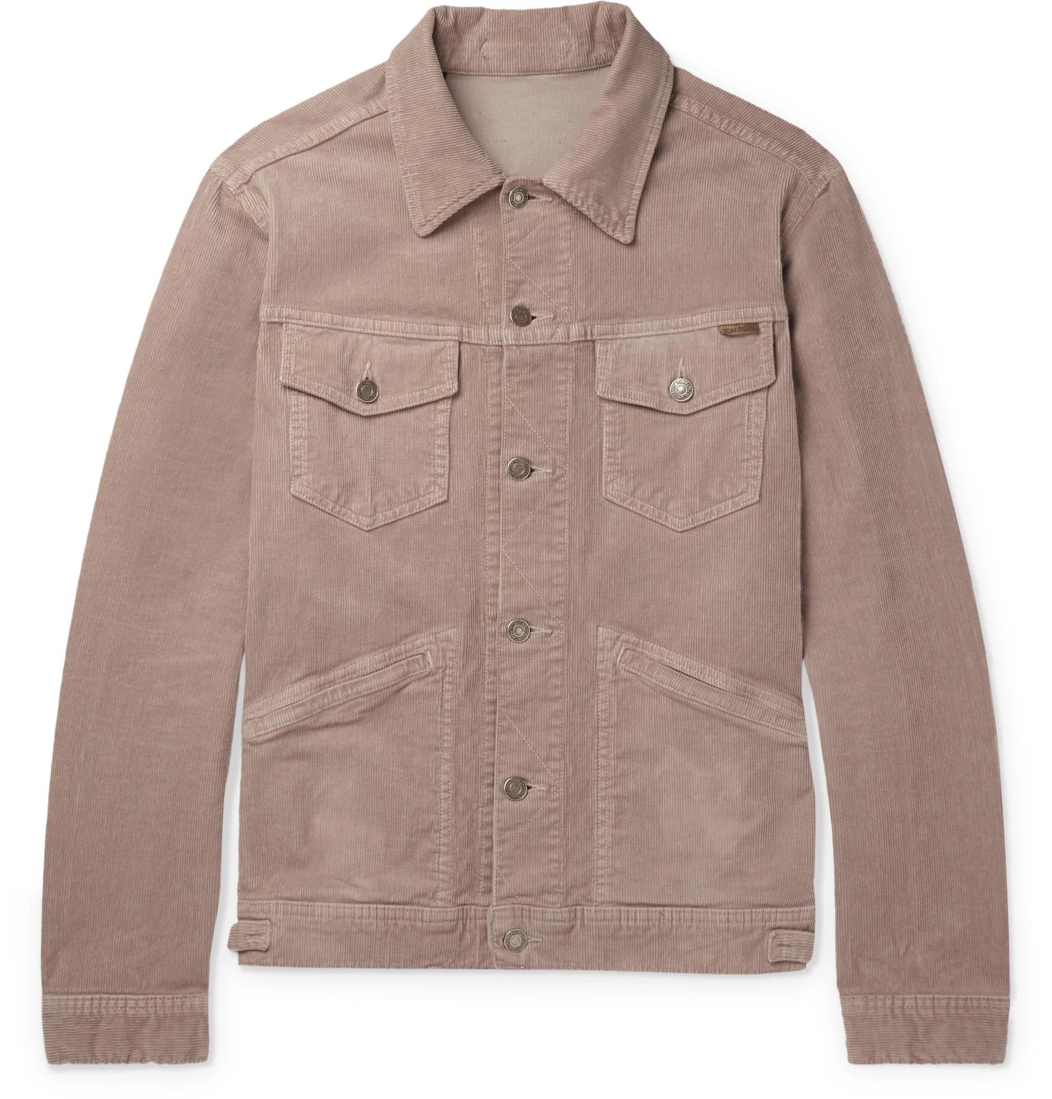 dc7c65c1e47 TOM FORD - Stretch-Cotton Corduroy Jacket