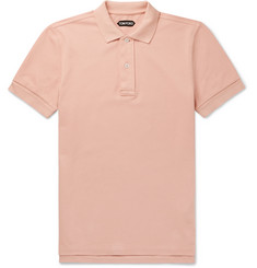 TOM FORD Cotton-Piqué Polo Shirt