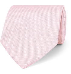 TOM FORD 8cm Silk and Linen-Blend Jacquard Tie