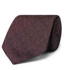 TOM FORD 8cm Metallic Silk-Jacquard Tie