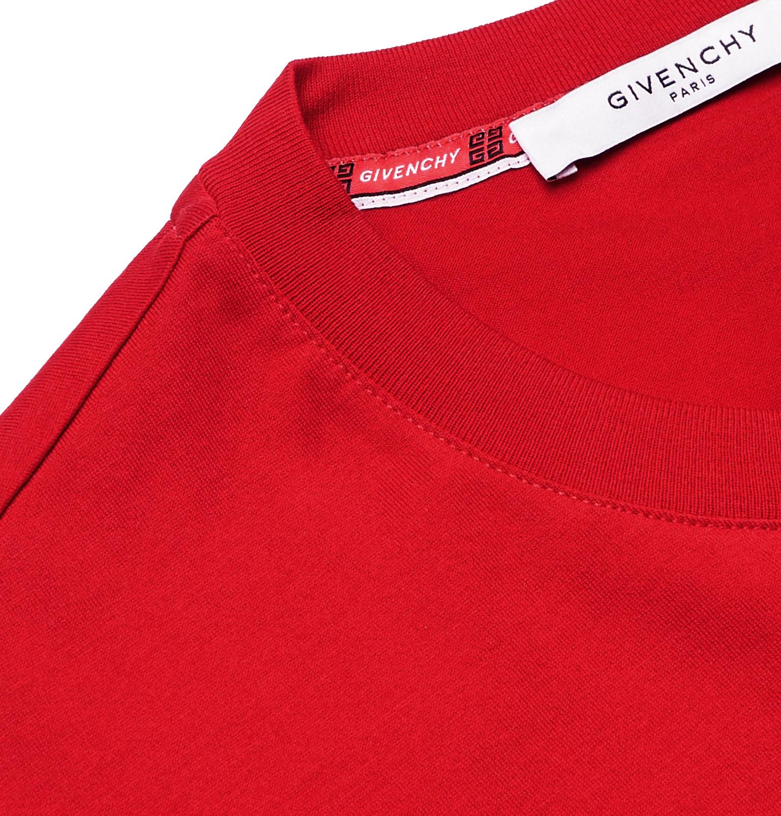 4a83864ac Givenchy - Logo-Print Cotton-Jersey T-Shirt