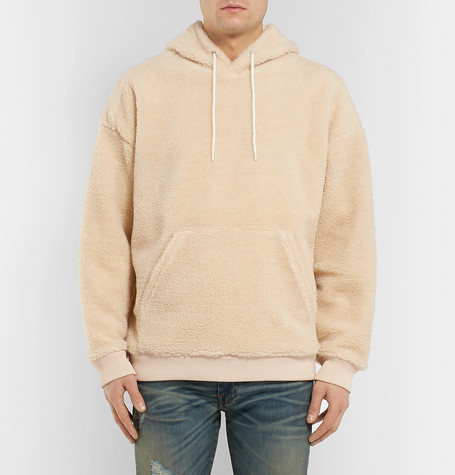 Logo Embroidered Fleece Hoodie by Givenchy