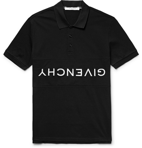 Logo-embroidered Cotton-pique Polo Shirt