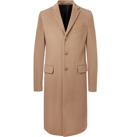 Givenchy – Slim-fit Wool And Cashmere-blend Coat – Camel