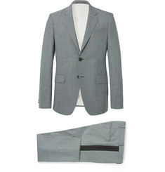 Givenchy Blue Slim-Fit Puppytooth Wool Suit