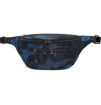 6844da5451bc Polo Ralph Lauren - Appliquéd Colour-Block Nylon Belt Bag