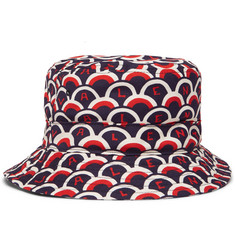 Valentino Valentino Garavani Printed Cotton-Twill Bucket Hat