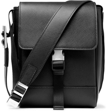 7d74f511e8 Prada - Saffiano Leather Messenger Bag
