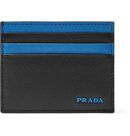 fa1b980e91e55a ... coupon prada saffiano leather cardholder 2d15e 43673