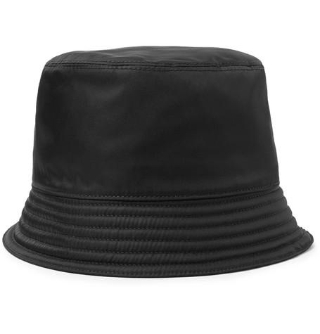 Prada - Logo-Appliquéd Nylon Bucket Hat 9e36d974270