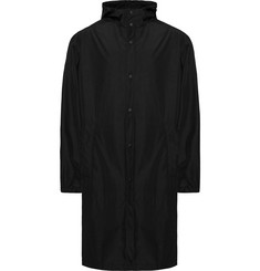 Helmut Lang Printed Shell Hooded Raincoat