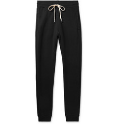 John Elliott Rio Slim-Fit Tapered Loopback Cotton-Jersey Sweatpants