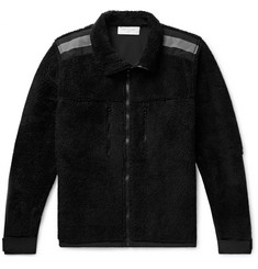John Elliott Shell-Trimmed Fleece Jacket