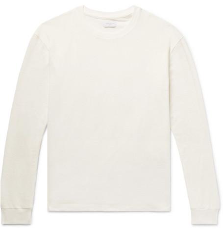 cd10073c669 John Elliott Slub Cotton And Silk-Blend Jersey T-Shirt - White ...