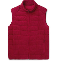 Brioni Quilted Nubuck Gilet