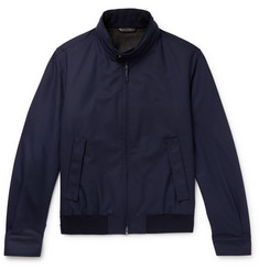 Brioni Barracuta Wool Bomber Jacket