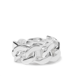 Maison Margiela Silver Chain Ring