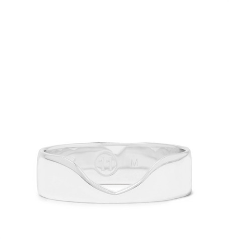 845d944f943 Maison Margiela - Indent Sterling Silver Ring