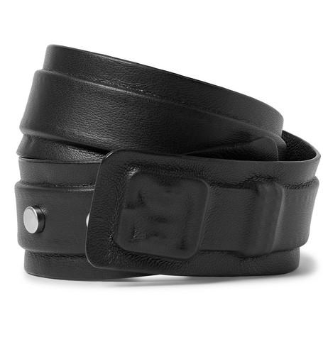 Maison Margiela – Leather Wrap Bracelet – Black