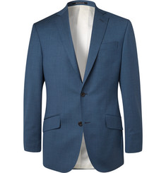 Richard James Navy Seishen Slim-Fit Super 130s Virgin Wool Suit Jacket