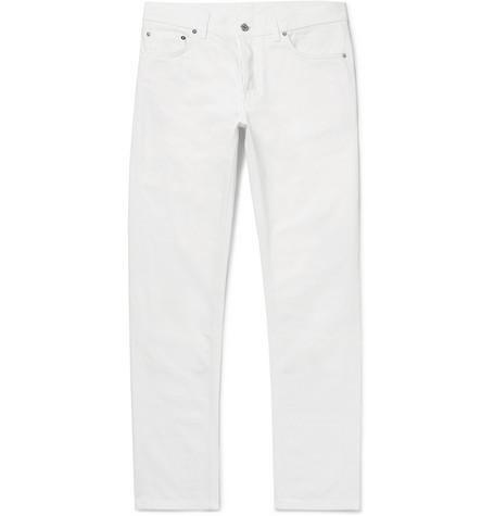 BERLUTI | Berluti - Slim-fit Denim Jeans - White | Goxip