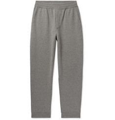Berluti Tapered Mélange Cashmere and Wool-Blend Sweatpants
