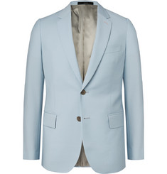 Paul Smith Light-Blue Soho Slim-Fit Wool and Mohair-Blend Suit Jacket