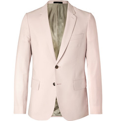 Paul Smith Light-Pink Soho Slim-Fit Wool and Mohair-Blend Suit Jacket