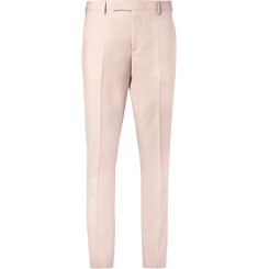 Paul Smith Light-Pink Soho Slim-Fit Wool and Mohair-Blend Suit Trousers