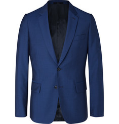 Paul Smith Navy Soho Slim-Fit Wool and Mohair-Blend Suit Jacket
