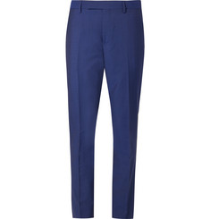 Paul Smith Navy Soho Slim-Fit Wool and Mohair-Blend Suit Trousers