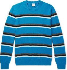 Paul Smith Striped Virgin Wool Sweater