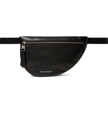 Alexander McQueen – Leather Belt Bag – Black