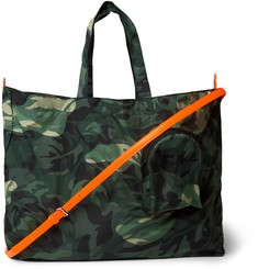 6541be4def Alexander McQueen - Camouflage-Print Shell Tote Bag
