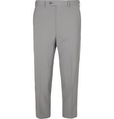 Prada - Cropped Virgin Wool Trousers