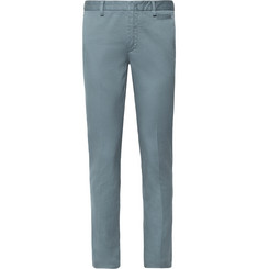 Prada - Slim-Fit Stretch-Cotton Twill Chinos