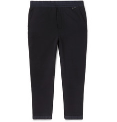 Prada - Slim-Fit Tapered Nylon-Trimmed Loopback Cotton-Jersey Sweatpants