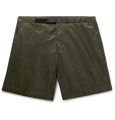 Prada - Slim-Fit Mid-Length Swim Shorts