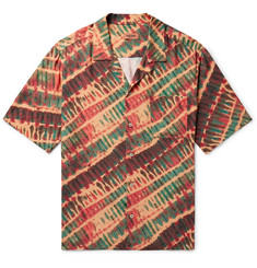 Missoni - Camp-Collar Tie-Dyed Twill Shirt