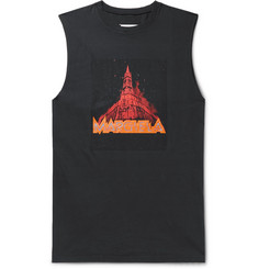 Maison Margiela Printed Cotton-Jersey Tank Top