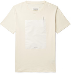 Maison Margiela - Shell-Trimmed Cotton-Jersey T-Shirt