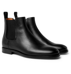 Lanvin - Full-Grain Leather Chelsea Boots