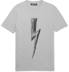 Neil Barrett - Printed Stretch-Cotton Jersey T-Shirt