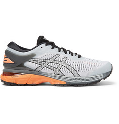 ASICS GEL-Kayano 25 Mesh and Rubber Running Sneakers