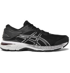 Gel-kayano 25 Mesh And Rubber Running Sneakers - Black