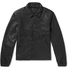 Saturdays NYC Maury Leather Jacket