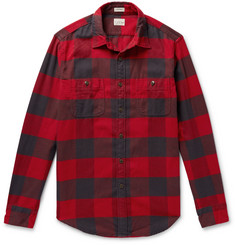 J.Crew Buffalo-Check Cotton-Flannel Shirt