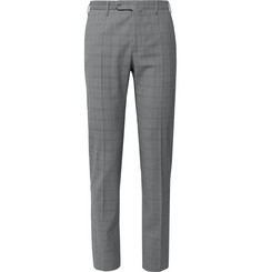 Incotex Slim-Fit Tapered Prince of Wales Checked Woven Trousers