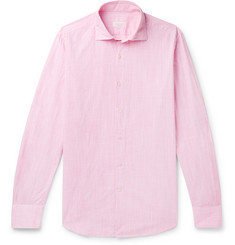 Incotex Fellini Slim-Fit End-On-End Cotton Shirt