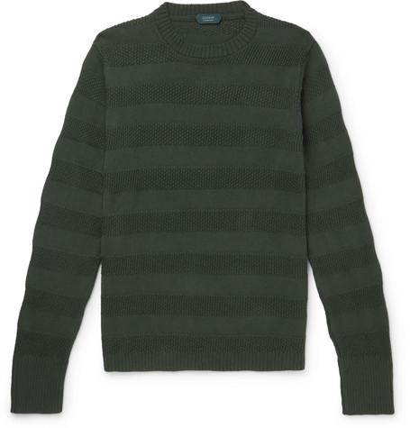 c016ffc4c Incotex - Striped Cotton Sweater
